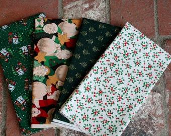 Christmas fabrice 4 pieces
