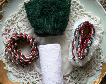 Christmas Lace and Braid