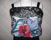 Vintage JC PENNEY Maxi Dress Summer Gown Plus Size