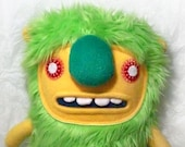 Jimeel, the monster plush toy