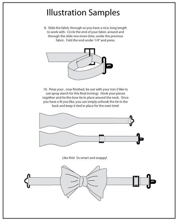 Mr. Hipster Bow Tie Pattern EBook Pdf Men And Boyu0027s 5 Styles, Downloadable Bow  Tie Pattern, Instant Download, Easy Bow Tie, Boys Bow Tie
