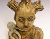 Tree Spirit / Original Ceramic Sculpture / Clarissa Callesen