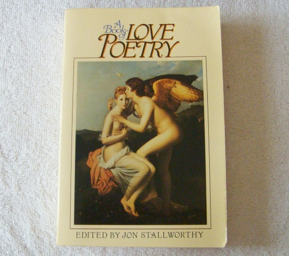Book of Love Poetry Vintage Book inv690