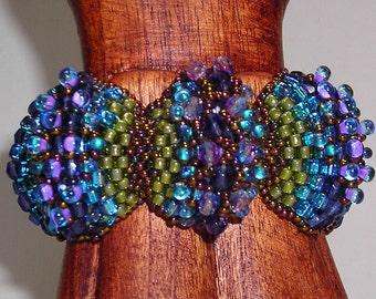 Peyote Scalloponi Bracelet Tutorial