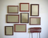 Salon Wall Grouping Of Antique Framed Mirrors, On RESERVE, ON RESERVE