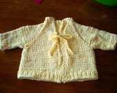 Buttercup Baby Sweater - knitting pattern