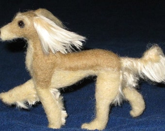 Needle Felted Dog /Custom Miniature Sculpture of your pet Cute