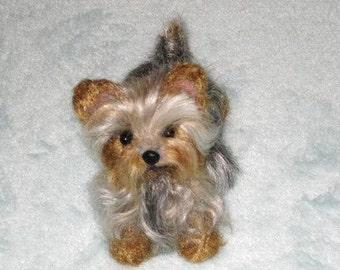 Custom Pet Portrait / Your Pet in Miniature / Cute / Handmade Poseable Art Sculpture Personalized gift