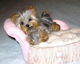 Custom Pet Portrait  / Your Pet in Miniature / Cute / Handmade Poseable Art Sculpture Personalized / the Perfect Gift