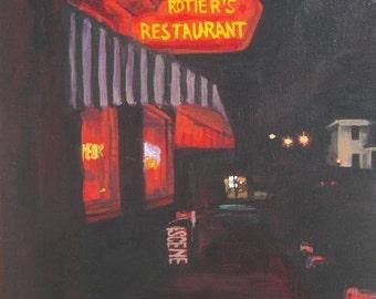 Rotier's Restaurant (neon series)