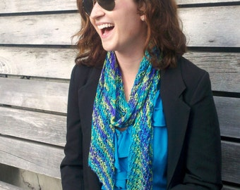 Knitting Pattern - Trellis Reversible Lace Scarf