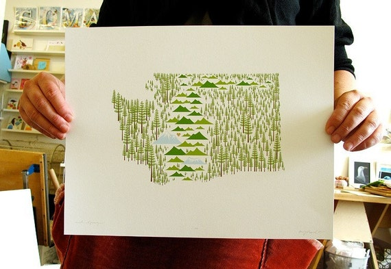 Washington State print
