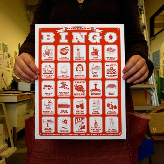 Portland BINGO - 2nd version
