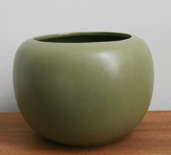 Prairie Green Floraline  Vase