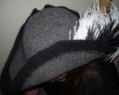Adult size Top Hat/Pirate Hat - Knitting Pattern