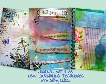 DVD Workshop - Journal with Me II - New Journaling techniques