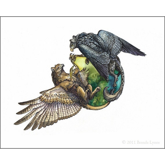 Our World - Gryphon Print
