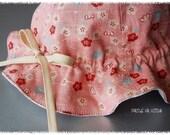 PDF Sewing Pattern - Tulip hat Pattern (adjustable) 3 months to 12 months