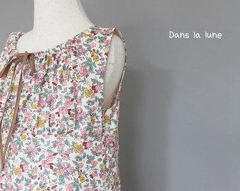 KIDS DRESS - PDF e pattern - Fancy Dress - size 4Y