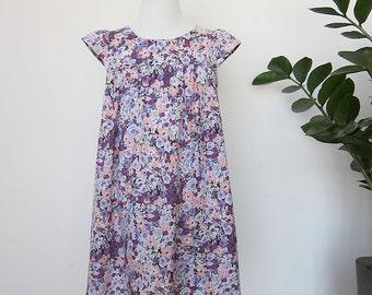 KIDS DRESS - PDF e pattern - Fuwa Fuwa dress - size 3Y