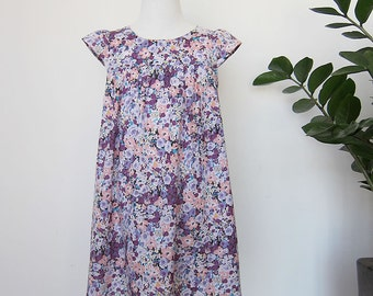 KIDS DRESS - PDF e pattern - Fuwa Fuwa dress - 3 sizes between 1Y and 6Y