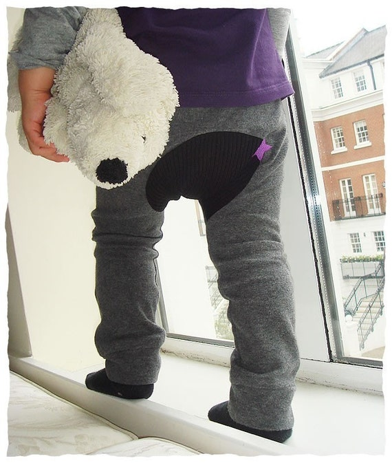 PDF Sewing Pattern - Monkey Spats (Pants/Trousers/Leggings/tights )  - 1 Size 6M to 1Y