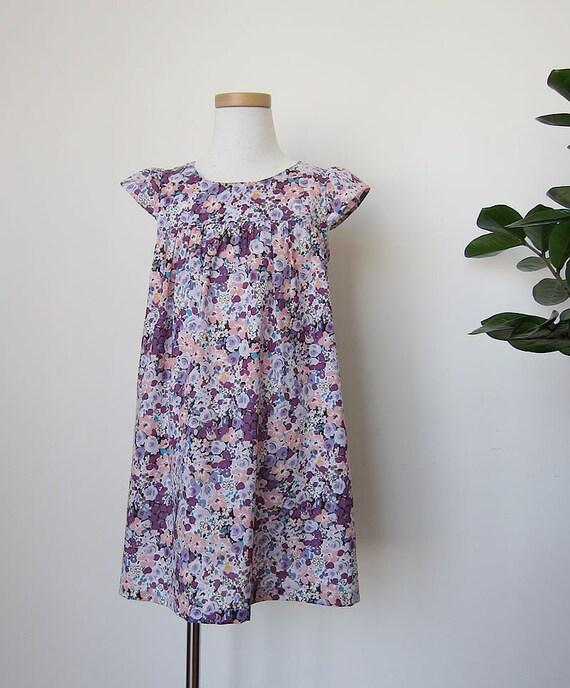 KIDS DRESS - PDF e pattern - Fuwa Fuwa dress - size 2Y