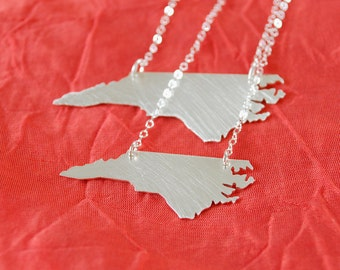 Petite North Carolina Necklace -Solid