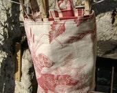 SALE Poor fox basket