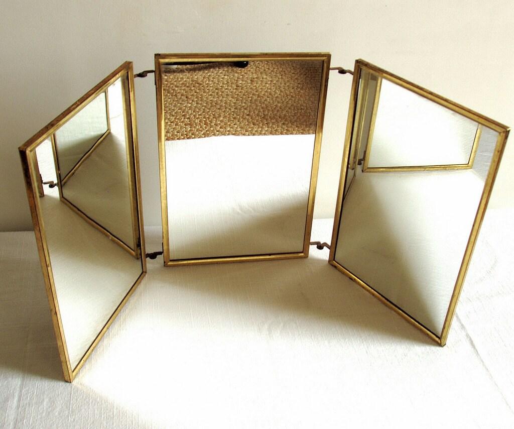 Https Www Etsy Com Listing 73634334 Vintage Tri Fold Vanity Mirror