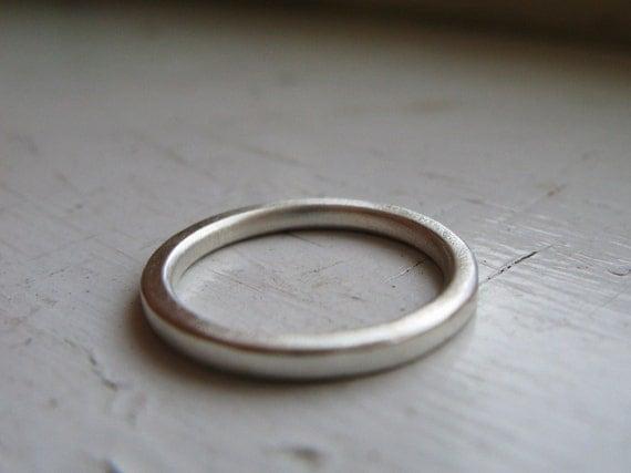 Sale Simple Sterling Ring