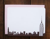 New York City, Flat Note cards