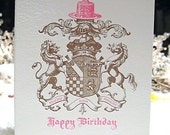 Medieval, birthday card