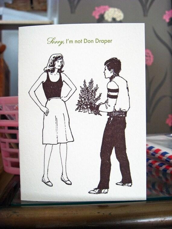 Mad Love, Letterpress Card