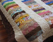 CLOSING SALE 50% OFF Stacked Coin Twin Size Quilt