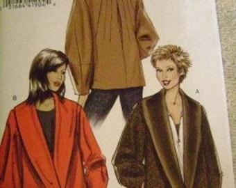Vogue Misses Jacket Sz 6-10 V8431 Uncut