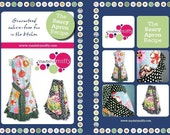 Saucy Apron Recipe - full color, full sized pattern with steps, tips and pictures
