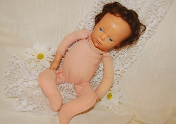 Vintage Mattel 1979 Baby Doll (GK) Collectible Toy Spooky Macabre Gothic Use In Altered Art Assemblage Art Craft Supplies