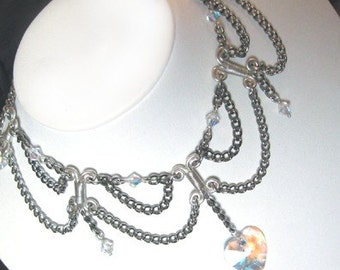 Victorian Sweetheart in Silver