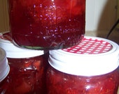 8 oz. Homemade Southern Strawberry Jam-Perfect Wedding Favor-50 jars