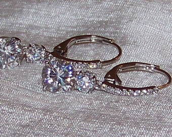 Wedding Bridal/Prom Swarovski Crystal Vintage-Inspired Women's Earrings