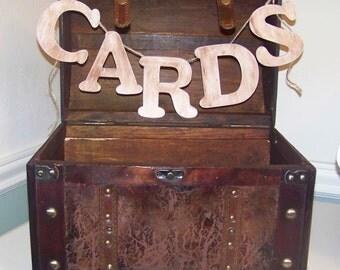 Rustic Wedding Card Box Card Holder