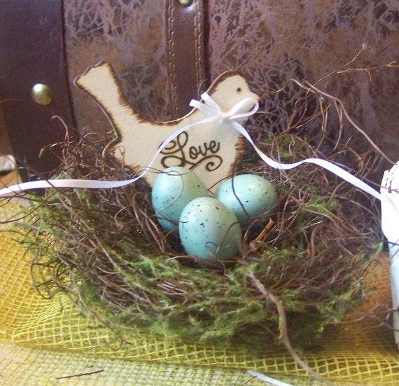 Ring Bearer Pillow Bird Nest