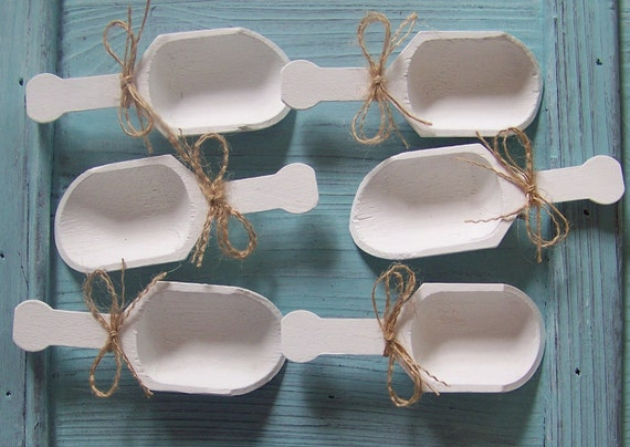 Wooden Candy Table ~ Wooden candy scoops please note long for by