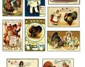 Vintage Thanksgiving Images Download Digital Collage Sheet GreatMusings No.141