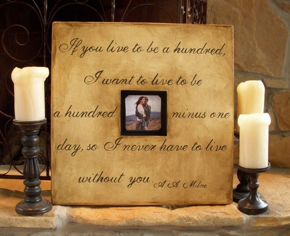 Hand Painted Memory Picture Frame With Quotes 20 X 20 Inch