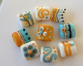 SOUTHWEST SPLENDOR - Handmade Lampwork Glass Beads