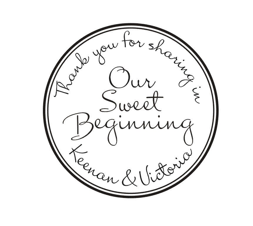 wedding rubber stamps our sweet beginning by stampoutonline