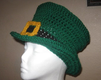 St Patrick's Day LEPRECHAUN HAT - Adult Size