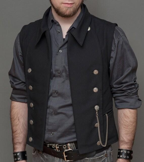 Pinkerton Vest Black SIZE 43